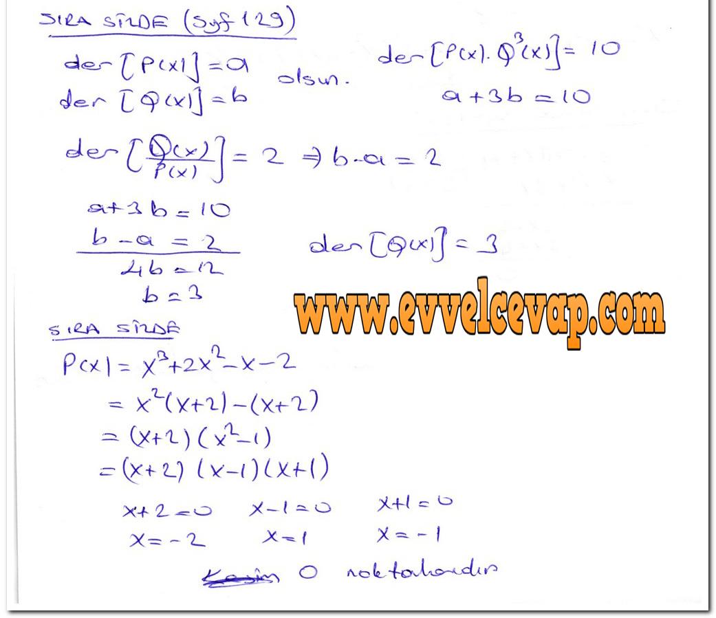 Ders Ve çalışma Kitapları Cevapları Sayfa 690 Ders Kitabı