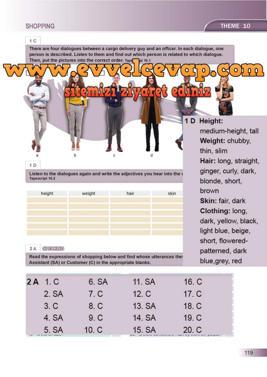 Ders Ve çalışma Kitapları Cevapları Sayfa 636 Ders Kitabı
