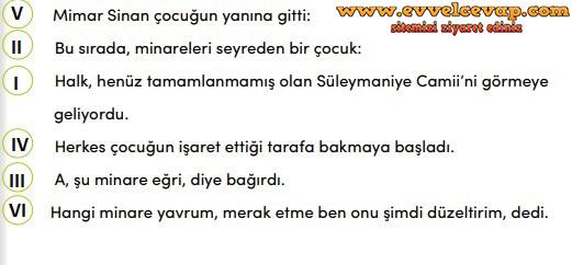 4 Sınıf Türkçe Meb Yayınları Ders Kitabı Cevapları Sayfa 199 Ders