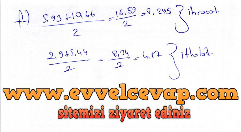 6. Sınıf Matematik Ders Kitabı Meb Yayınları Sayfa 249 Cevapları 2018-2019