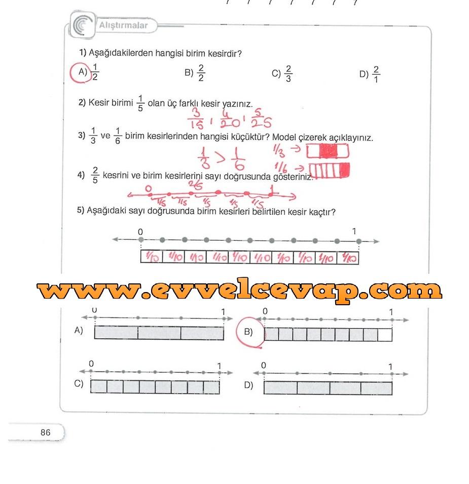 5 Sinif Matematik Sdr Dikey Yayinlari Ders Kitabi Cevaplari Sayfa