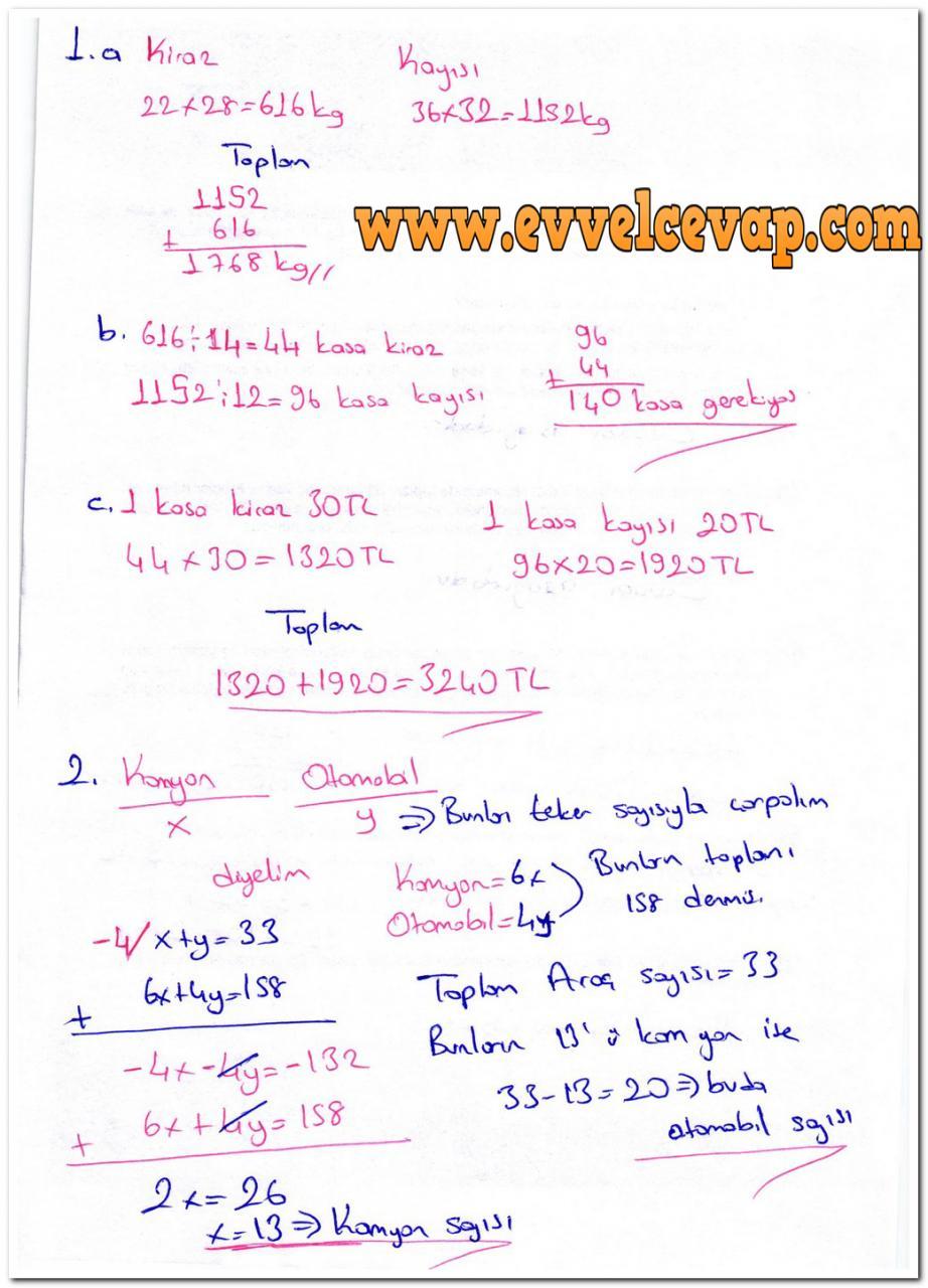 6 Sinif Matematik Meb Yayinlari Ders Kitabi Cevaplari Sayfa 37