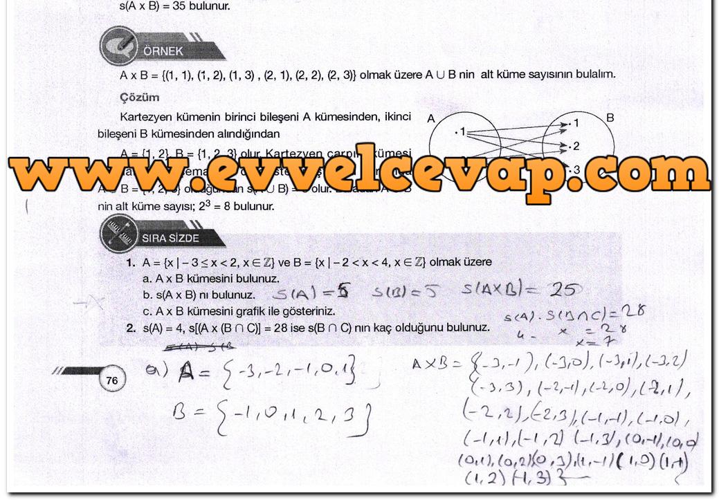 Ders Ve Calisma Kitaplari Cevaplari Sayfa 465 Ders Kitabi