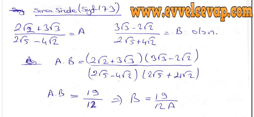 Ders Ve Calisma Kitaplari Cevaplari Sayfa 1046 Ders Kitabi