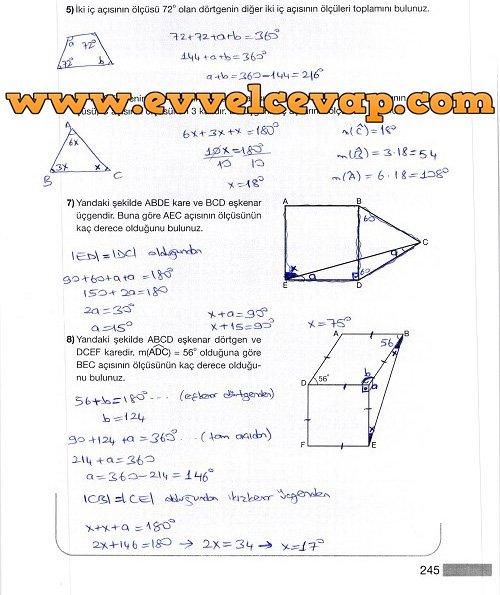 5 Sinif Matematik Meb Yayinlari Ders Kitabi Cevaplari Sayfa 247