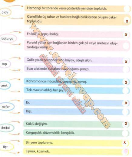 6 Sinif Turkce Ekoyay Yayinlari Ders Kitabi Cevaplari Sayfa 51
