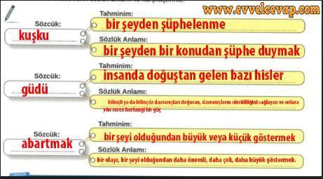8 Sinif Turkce Meb Yayinlari Ders Kitabi Cevaplari Sayfa 18