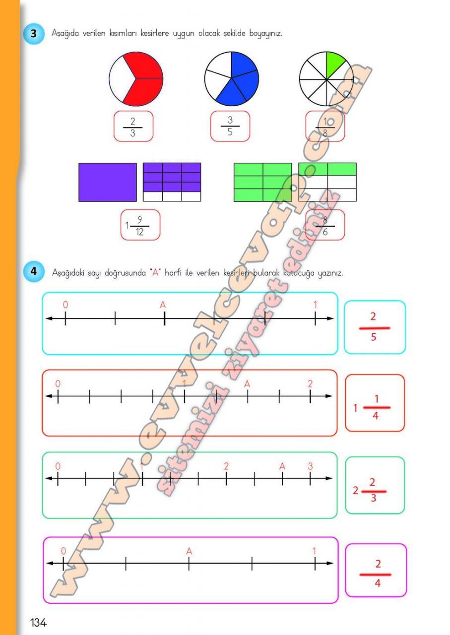 4 Sinif Matematik Meb Yayinlari Ders Kitabi Cevaplari Sayfa 134